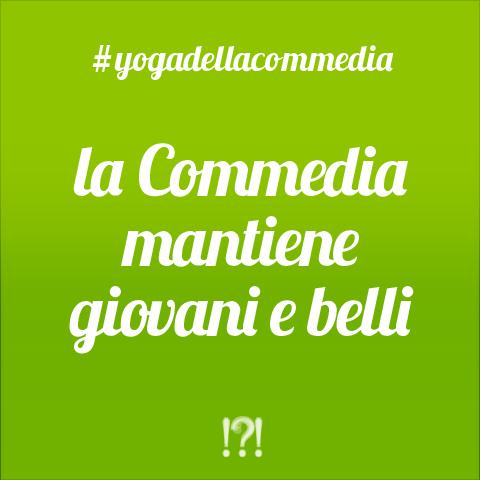 #yogadellacommedia